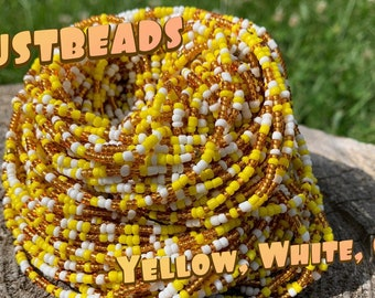 Justbeads- Yellow, White, Gold