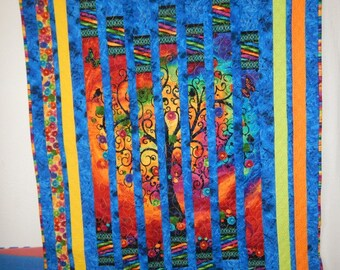 Timeless Treasures Fantasia Tree Wall Hanging Quilt