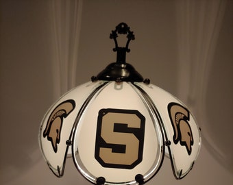 Fantastic Michigan State Lamp Etsy Home Interior And Landscaping Palasignezvosmurscom