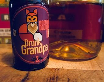 Beard Oil - Drunk Grandpa Beard Oil - 1oz.