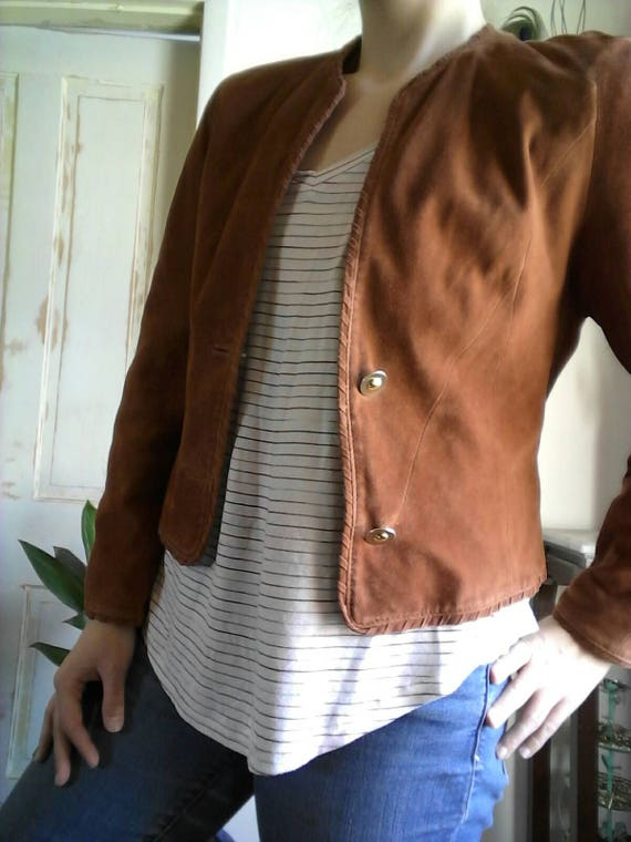 Vintage Reindeer leather jacket, leather jacket, d