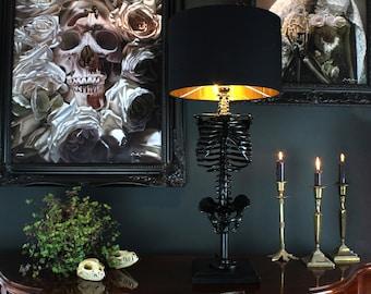 Skeleton Table Lamp - Unique Lamp - Anatomy Decor