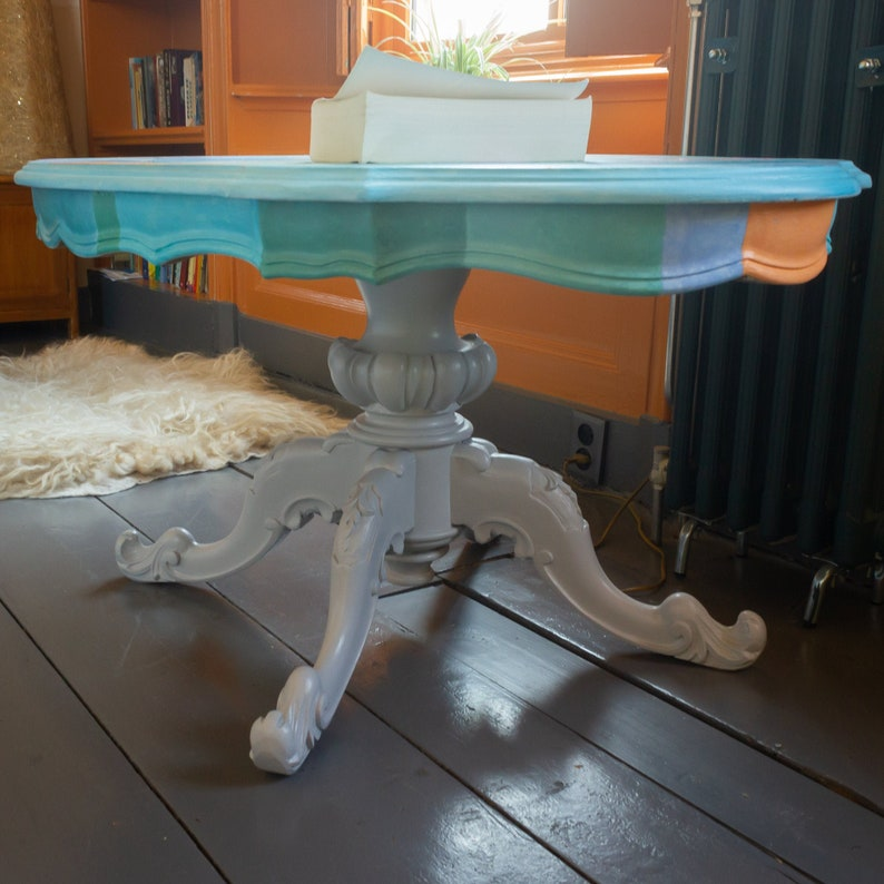 Literary Table Ulysses  artistic upcycling  image 0