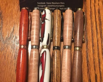 Hand Made Wooden Pens
