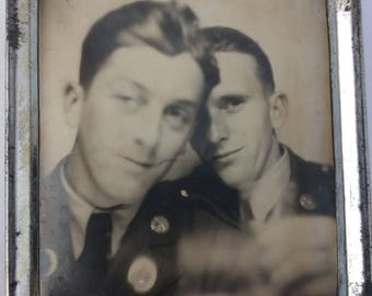 Photomatic - Vintage Photograph - Soldiers