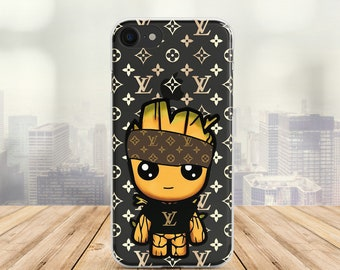 Baby Groot Case Inspired by Louis Vuitton Case LV Case iPhone 8 Samsung A8  Case Samsung S9 Plus Case iPhone 7 Case iPhone 6 plus iPhone case be6c960d4d4