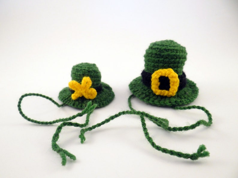 Leprechaun Tiny Lizard Hat Costume For Small Pet Irish Pet image 1