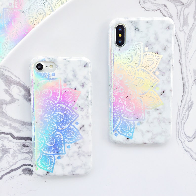 4b02c1ac85e72 Marble Holographic Henna iPhone case iPhone 6 case iPhone 6s case iPhone 7  case iPhone 8 case iPhone 7 plus case iPhone 8 plus case iPhone X