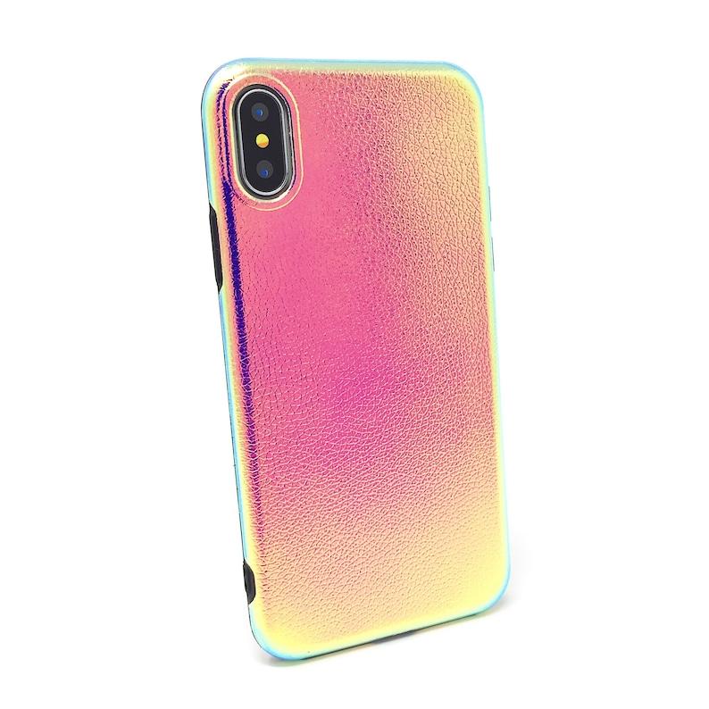 8 Plus 6s 8 6 6 Plus X Textured Holographic Iridescent Hologram Soft Silicone iPhone Case 7 Plus 6s Plus 7