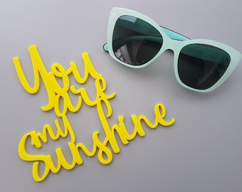 You Are My Sunshine Wall Art - Wall Text