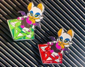 Bat Burglar pin