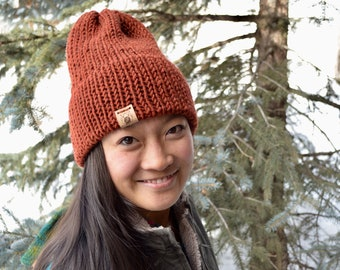 253b750922e Slouchy Knit Beanie Hat for Summer Camping and Hiking
