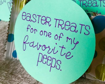 Easter Treats Tag