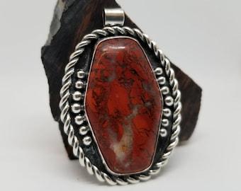 Brecciated Jasper Pendant