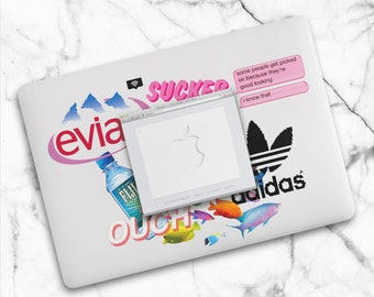 "Vaporwave Macbook Case / Fiji Vaporwave Macbook Air Case / Aesthetic Macbook Pro 13"" Case / Tumblr Macbook Pro 13"" Case"