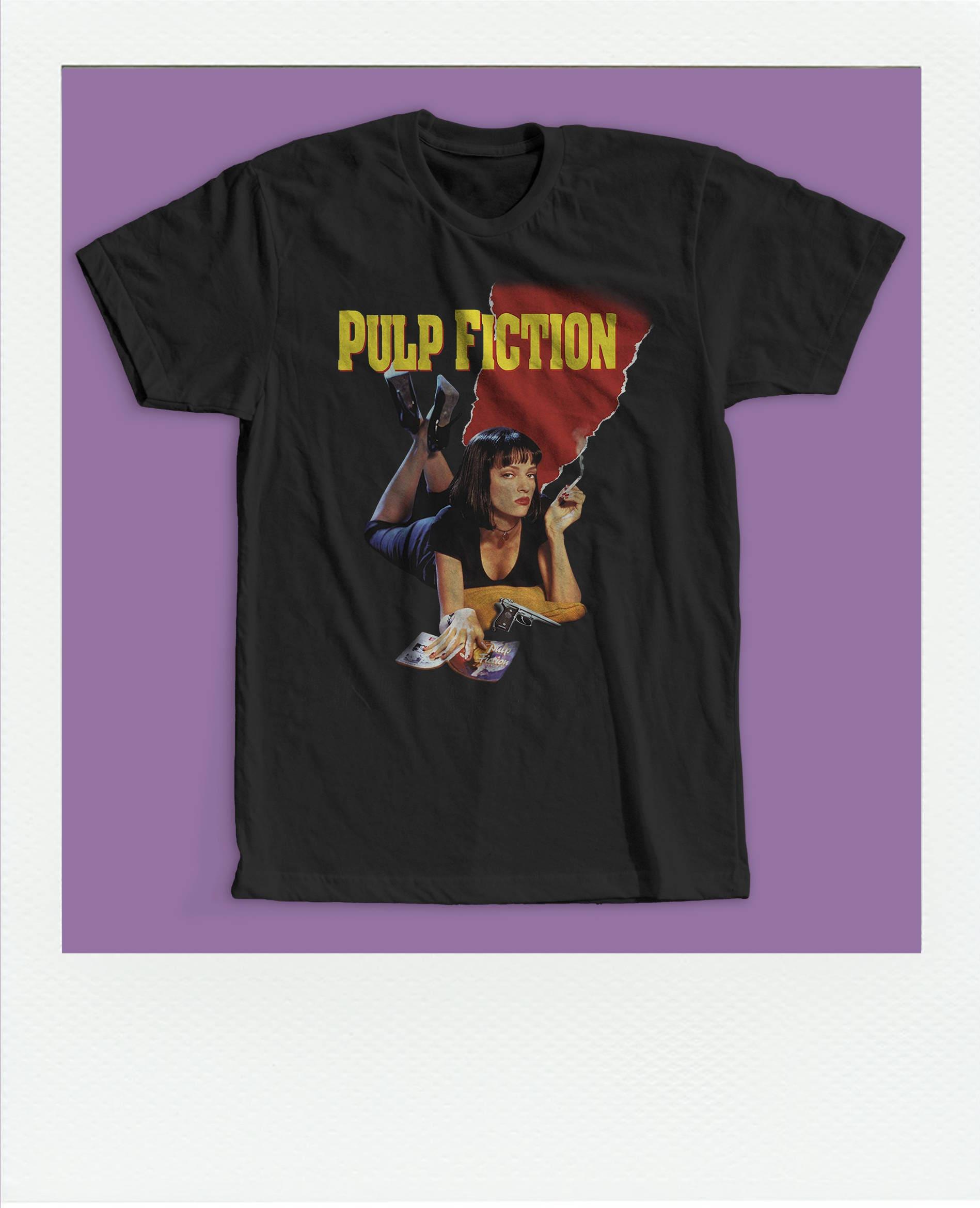 cb0c0ddd9 Pulp Fiction t shirt / Mia Wallace shirt / Uma Thurman shirt / | Etsy