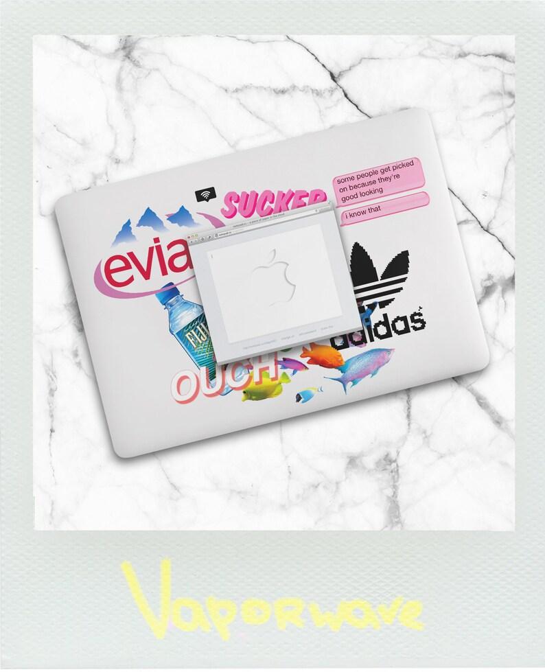 huge selection of 7fe32 60d5b Vaporwave Macbook Case / Fiji Vaporwave Macbook Air Case / Aesthetic  Macbook Pro 13