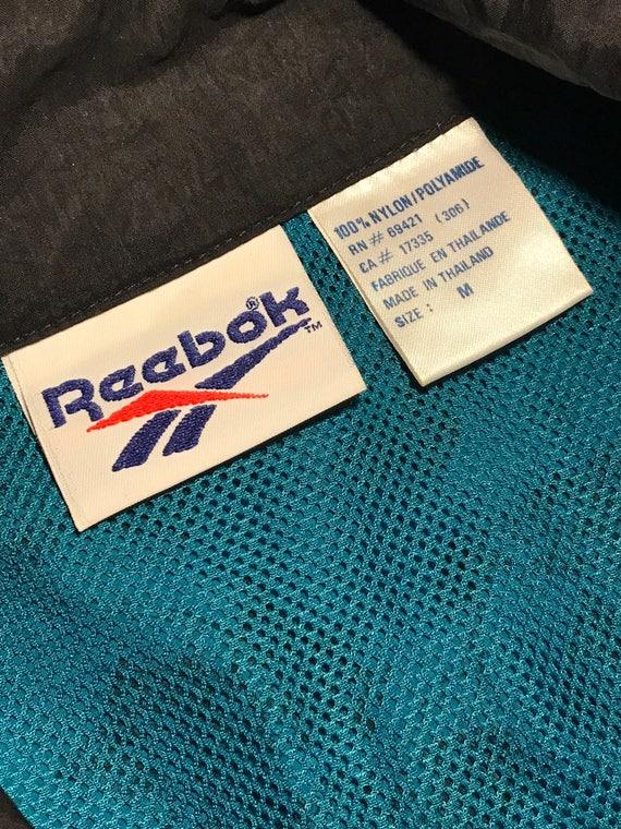 90'S REEBOK Leaf print Windbreaker - image 3