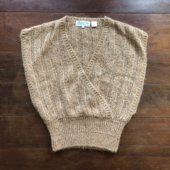 Christian Dior SEPARATES knit sweater vest