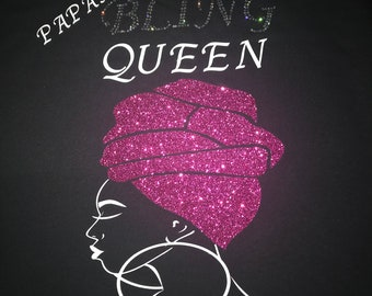 8bedef08ff7e 2x or 3x Paparazzi Bling Queen T-shirt blinged out 2x or 3x