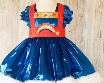 Rainbow Brite Dress, Rainbow Brite Costume