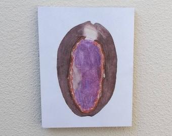 Original Cowry Shell Painting