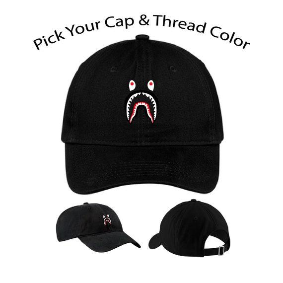 9ca759aa1cb A Bathing Ape Shark Hat Streetwear Bape Shark Hat Bape Cap