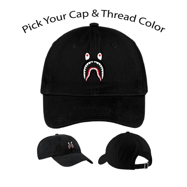 d650af2d A Bathing Ape Shark Hat Streetwear Bape Shark Hat Bape Cap | Etsy
