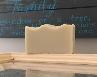 OATMEAL & CEDARWOOD Soap, handmade, cold processed, vegan soap, palm free soap, organic soap, natural soap, french green clay soap