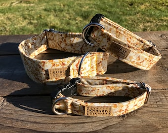 Let's Go To the Movies Dog Collar, popcorn