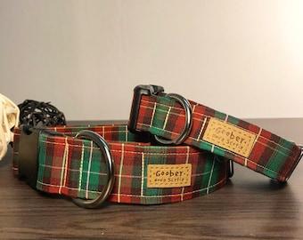 PEI Tartan Dog Collar, Prince Edward Island