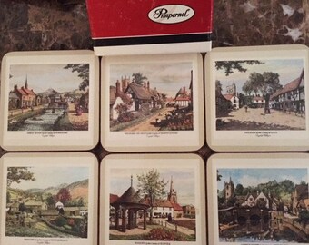 Pimpernel English Coaster Set