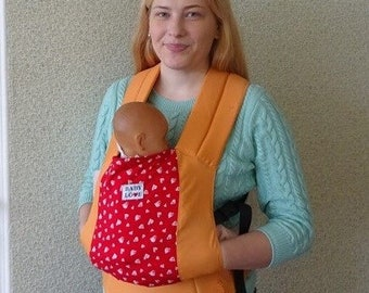 Hearts Hot Red Buckle baby Carrier BabyLove Soft Structured Carrier ergo