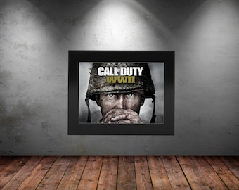 Call of Duty WWII   Poster Decoration High Quality Print