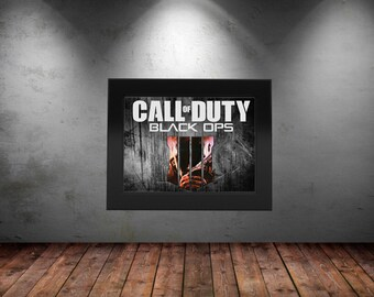 """Call of Duty Black Ops 4 - Poster   8.5"""" x 11"""" Poster Decoration High Quality Print"""