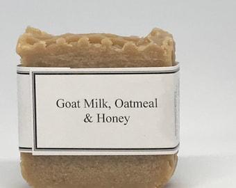 Goat Milk, Oatmeal & Honey