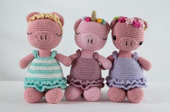 Crochet Along Pig   376x570