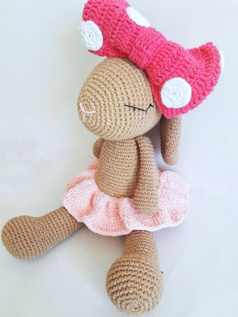 Crochet Bunny ornament Crochet Rabbit ornament Amigurumi   Etsy   1059x794