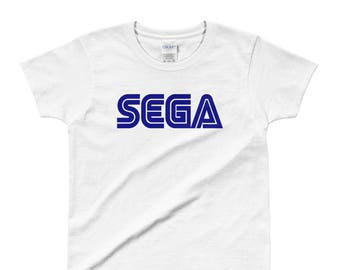 SEGA Ladies' T-shirt 100 % preshrunk ultra cotton USA
