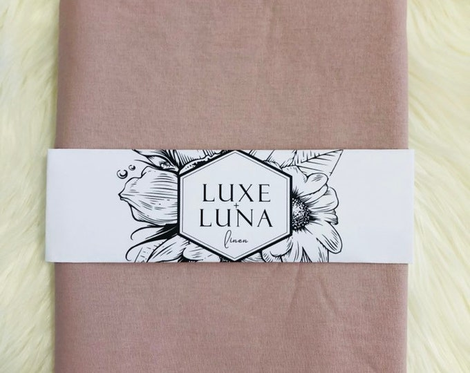Fitted Cot / Crib Sheet / Bassinet Sheet- Lilac Purple