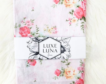 Fitted Cot / Crib Sheet Floral - Alice Floral Print
