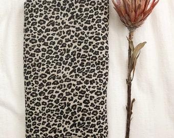 Baby Muslin Wrap - Leopard Print