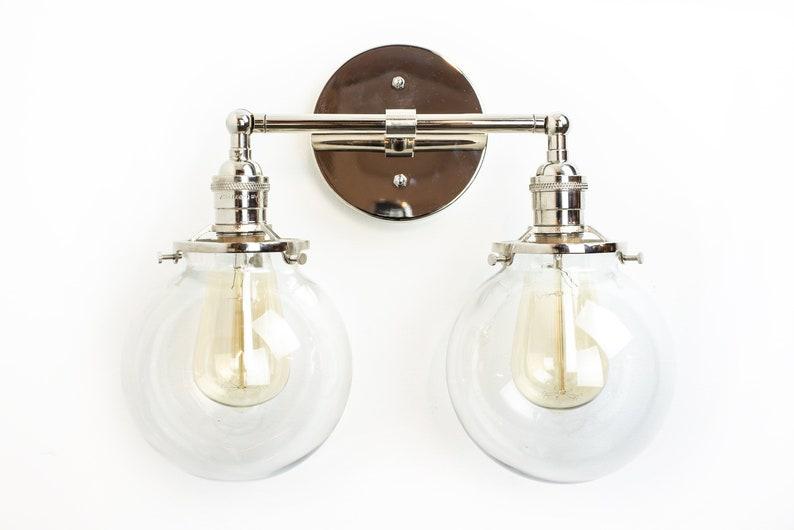 Bagno vanity illuminazione lampada lampada moderna etsy
