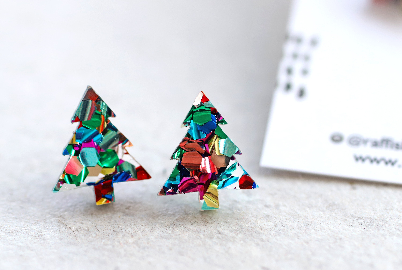 Christmas Joy Surgical Steel Earrings
