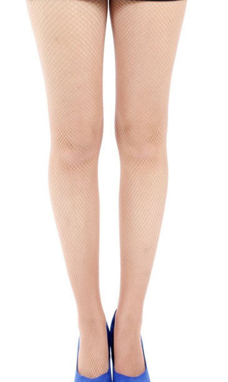 Fishnet tights nude Nude Photos 24