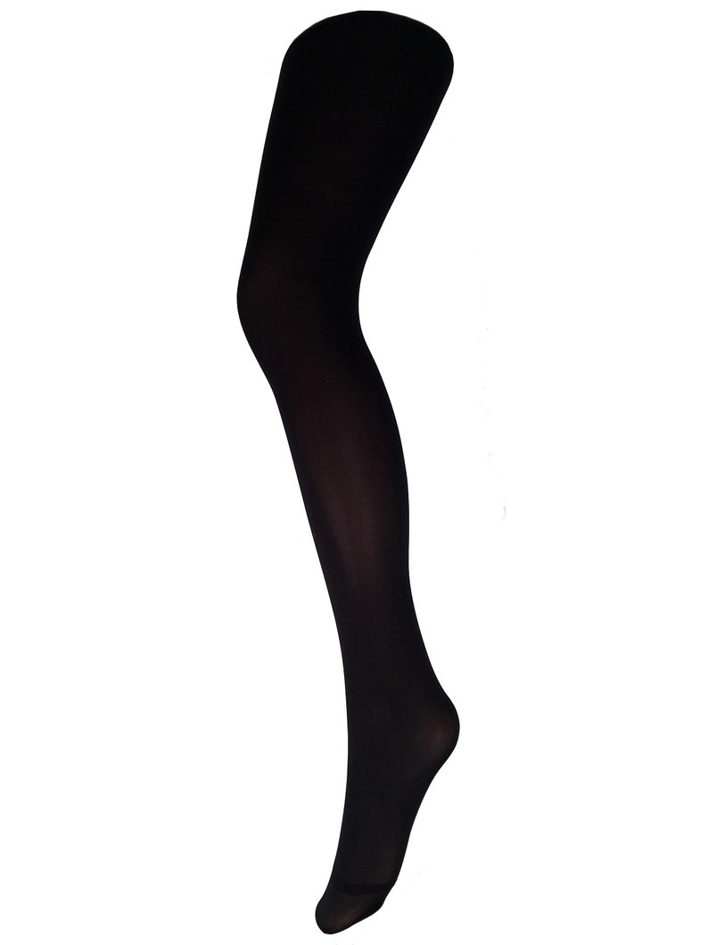 c567664d09ede Opaque Tights black 200 deniers Malka Chic | Etsy