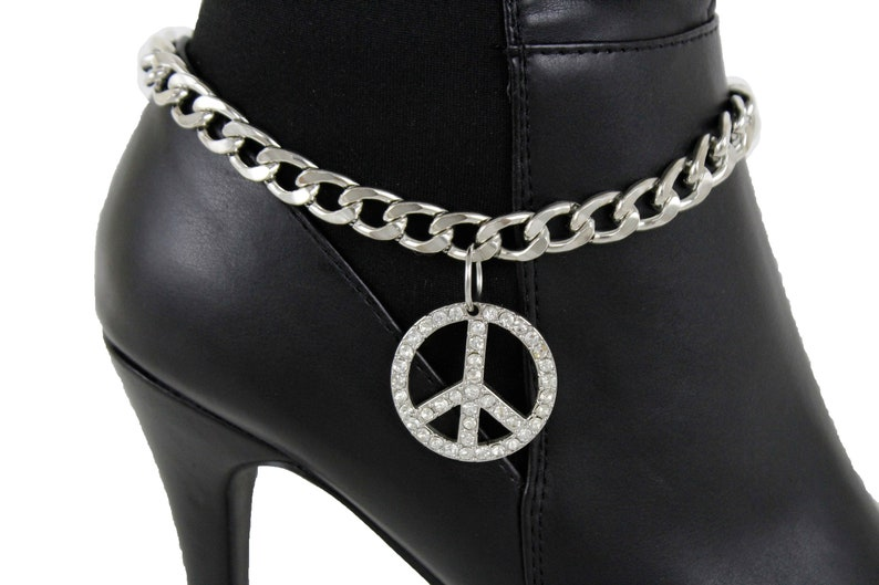 Anklets Fashion Jewelry Boot Silver Chain Bracelet Horse Tx Star Shoe Bling Anklet Charm