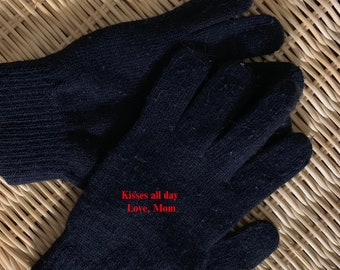 personalized gloves// texting gloves// team gifts//winter gloves//