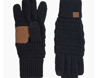 Touch Screen gloves//CC Gloves//CC wool knit fashion gloves//winter gloves