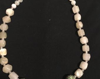 Beautiful round beads necklace
